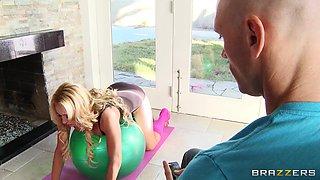 Blonde Milf Making Naughty Moves To Seduce