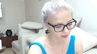 This four eyed camgirl has such a rare body type and she is nasty as fuck