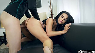 RawAttack - Katrina Jade fucked by a monster cock, interview