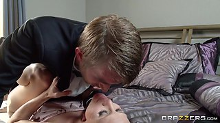 Jenni And Scarlet Sharing The Same Cock