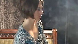 Shana and melissa smoking
