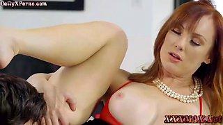 horny stepson seduce mom