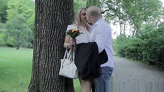 blonde MILF romance has always been the biggest turn-on