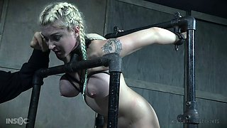 Big ass slave girl likes to be punished