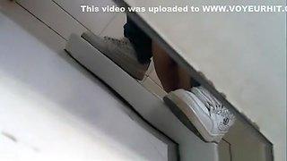Toilet pee hidden cam