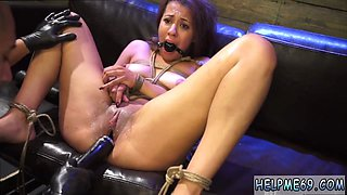 Tied cum in mouth and bondage fun Engine failure in the middle of nowhere in a no