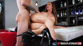 Formidable sexual session with cock craving babe Dani Jensen