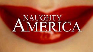 Big tits, big ass, big dick threesome! - Naughty America