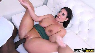 Step mom big tits vs. monster cock