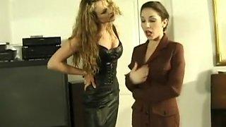 lesbian wrestling domination