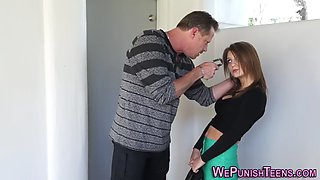 throated punished teen
