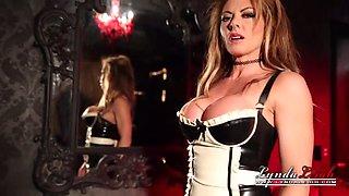 naughty latex maid