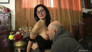 Asia Morante seduced by a nasty lover for a great anal fuck