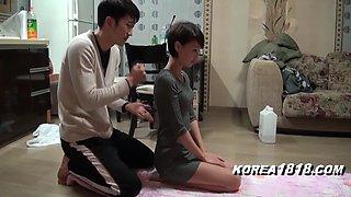 Korean porn yoga sex