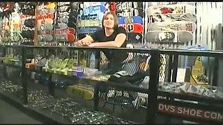 Midget Skater Bangs The Skate Shop Centerfold