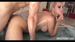 JR Oiled Up Anal Fuck Toy