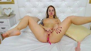 18 Perfect Body Stunning Euro Babe Enjoying P1