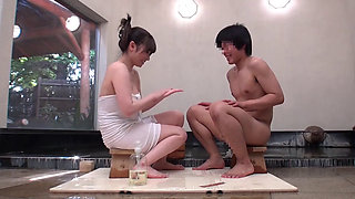 Japanese Housewife And A College Student