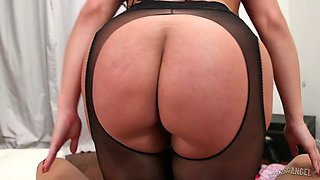 Jaw dropping harlot Sheridan Love is fucked in crazy pov clip
