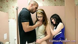 Threesome With Teacher