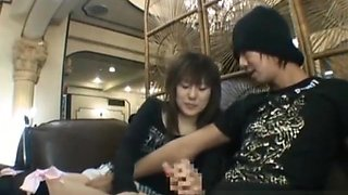 Hot Japanese doll gets some hard public part3