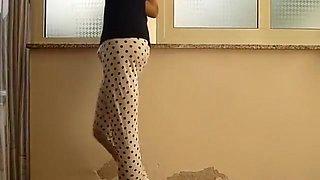 Jessykyna crossdresser leggings white