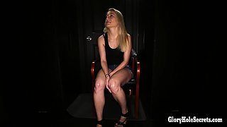 Ava had so much fun in our gloryhole the first time, she