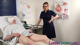 Domina nurse humiliates