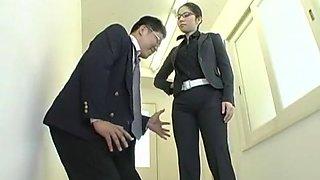 Amazing Japanese chick Tohko Yamamoto in Best Blowjob, Stockings JAV clip