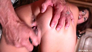 Suzen Sweet gets tied up and her throat and pussy abused with toys