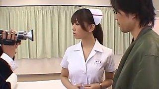 Amazing Japanese slut Karen Hasumi in Crazy Nurse JAV video