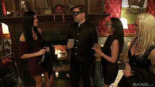 Good old orgy with India Summer and her horny friends