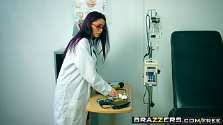 Brazzers - Hot And Mean - Going HAM On The Nurse scene starring Monique Alexander and Nekane Sweet
