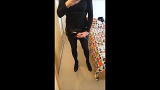 Alison Thighbootboy - Sexy Masturbating Crossdresser