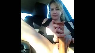 Shannon Squirts in the Car!!!