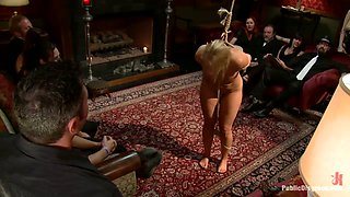 Mellanie Monroe: Big Tittied Milf Is Used As The Armory Fuck Hole For A Night - PublicDisgrace