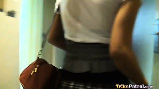 Hot Filipina office girl propositioned for sex
