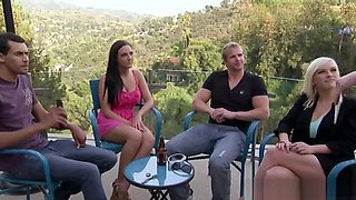Swingers Playing Dirty Games In Greaat Reality Show