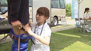 Outdorr Health Check By Japanese Nurses