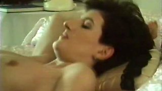 Leggy MILF wife takes shower and gets fucked by her hubby - retro