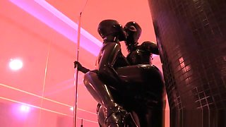 Two Latex Girls At Spa Part 2