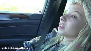 Kenzie Reeves in You take Kenzie to the top of the volcano - ATKGirlfriends