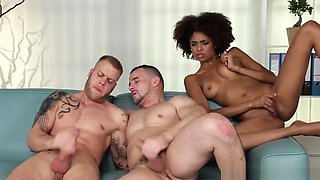 Bisex Hunks Tugging Cum