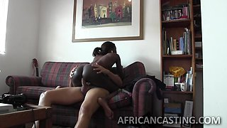 Epic ebony babe makes love with her mouth