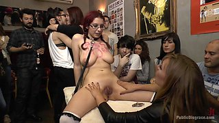 The Ultimate Humiliation - Natural Busty Piss Whore Fisted And Fucked - PublicDisgrace