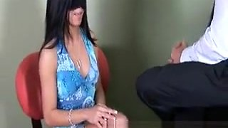 Doctor has an unconventual treatment for his hot patient