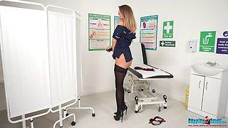 Mia stripping nurse