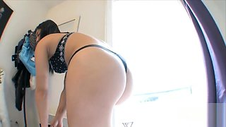 French Asian Maya Li's First Scene
