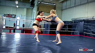 kickboxing lesbos fight for fun feature
