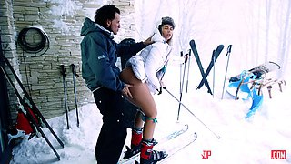 russian teen nikki dream being on the skies getting dogged
